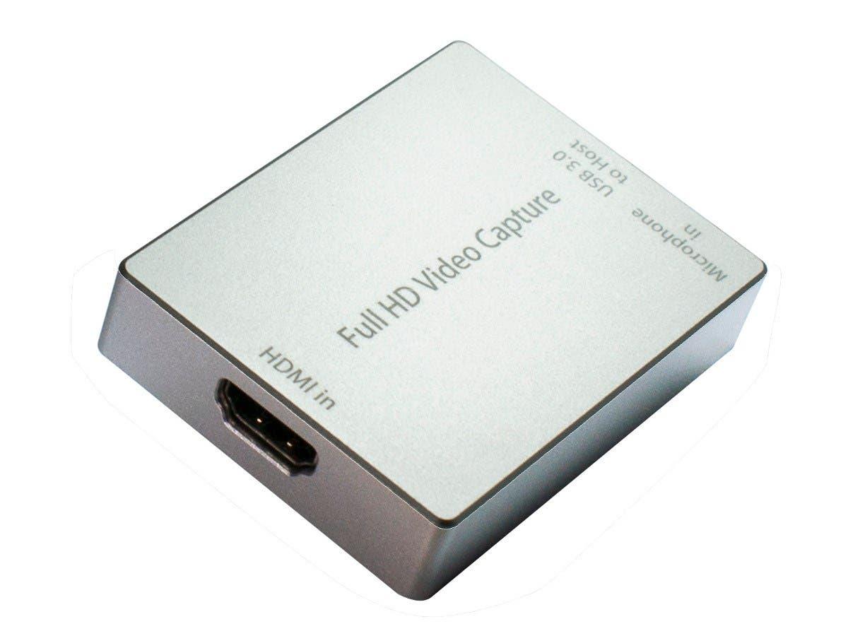 HornetTek HDMI Video Capture Device / Video Game Recorder Converter USB 3.0 1080P 60FPS -Large-Image-1