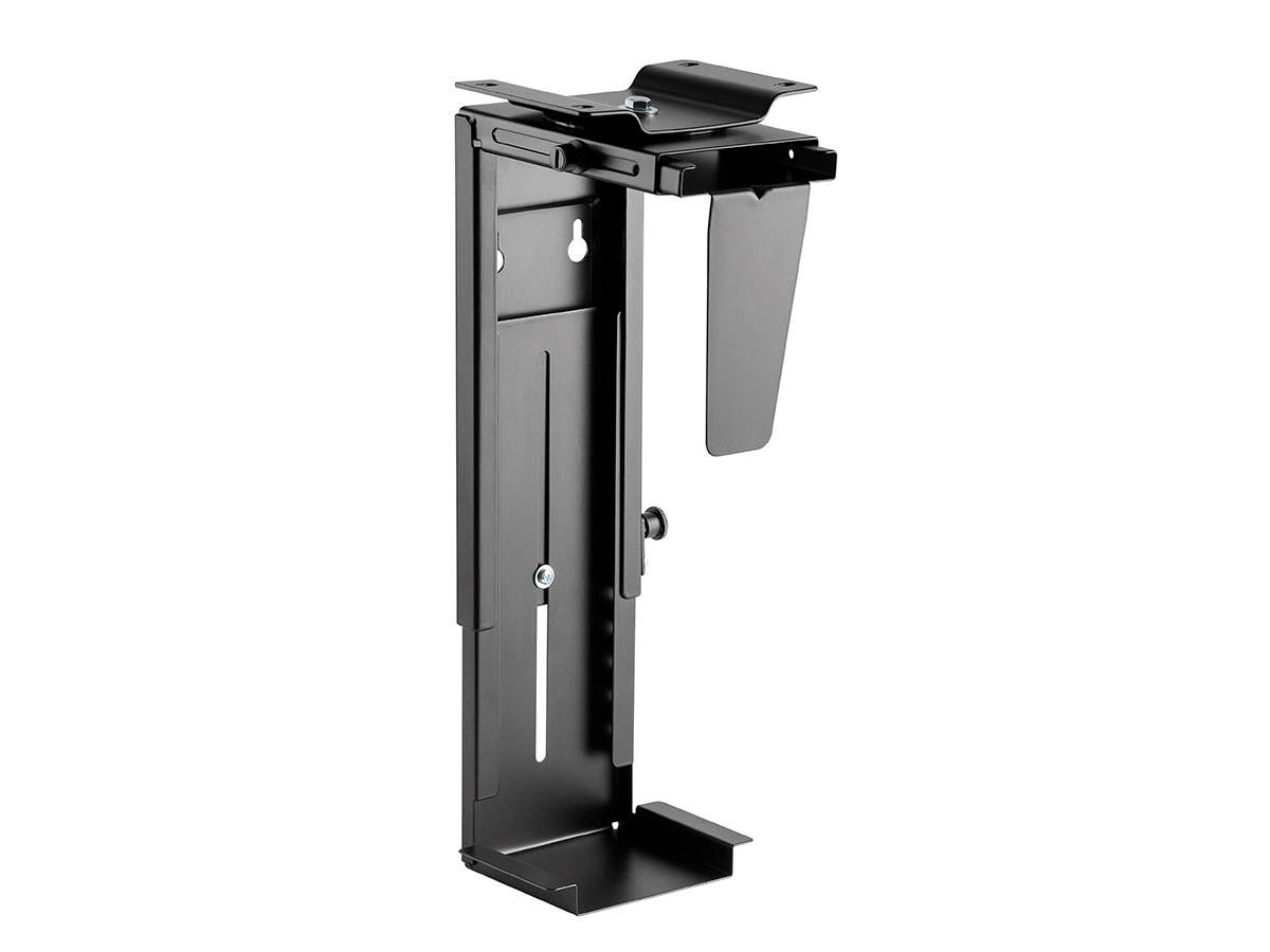 Workstream by Monoprice Computer Case CPU Tower Holder, Adjustable Under Desk Mount with Rotating Mechanism-Large-Image-1