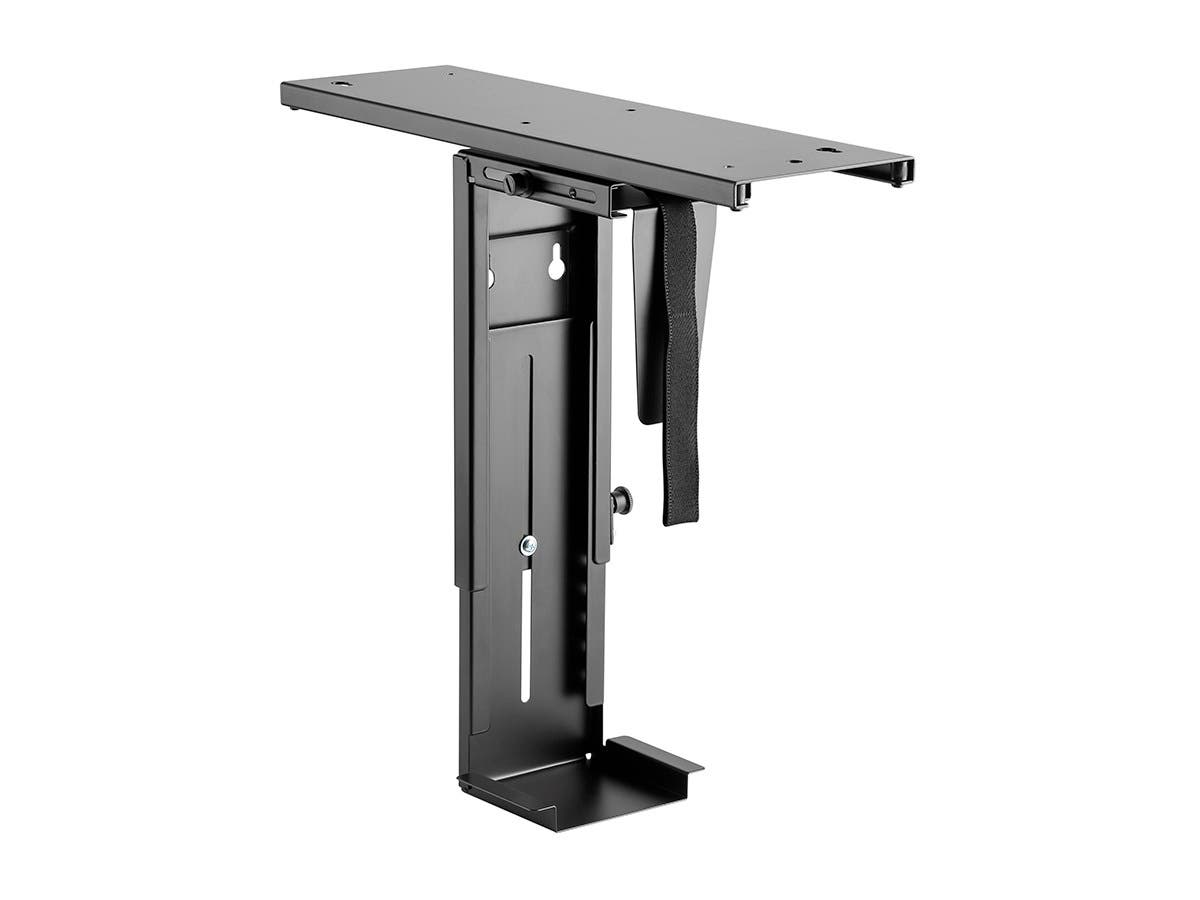 Workstream by Monoprice Computer Case CPU Tower Holder, Adjustable Under Desk Mount with Rotating and Sliding Mechanism-Large-Image-1
