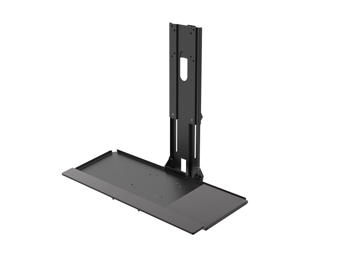 Workstream by Monoprice Workstation Wall Mount for Keyboard and Monitor-Large-Image-1