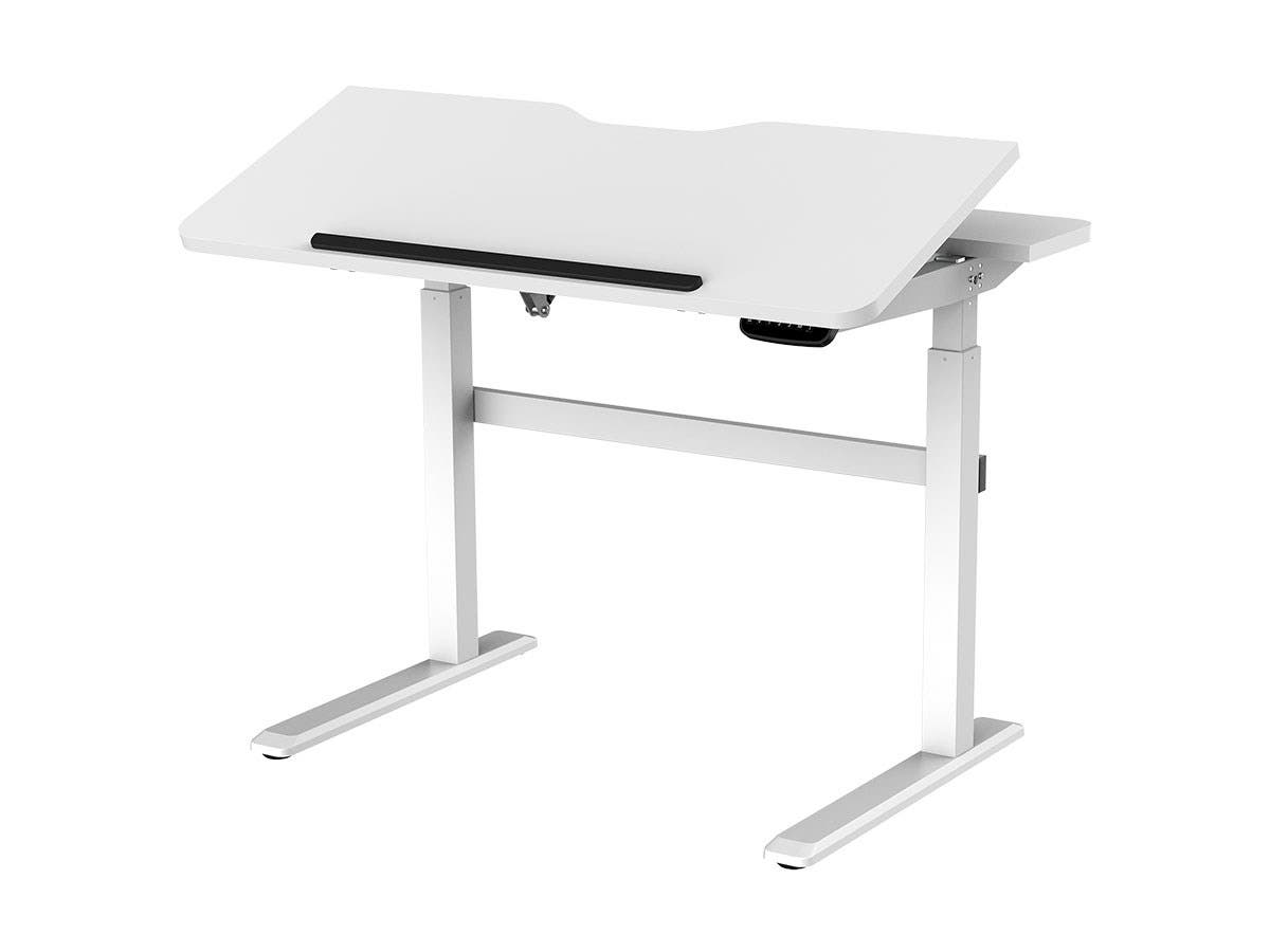 Peachy Workstream By Monoprice Sit Stand Desk With Tilting Home Interior And Landscaping Mentranervesignezvosmurscom