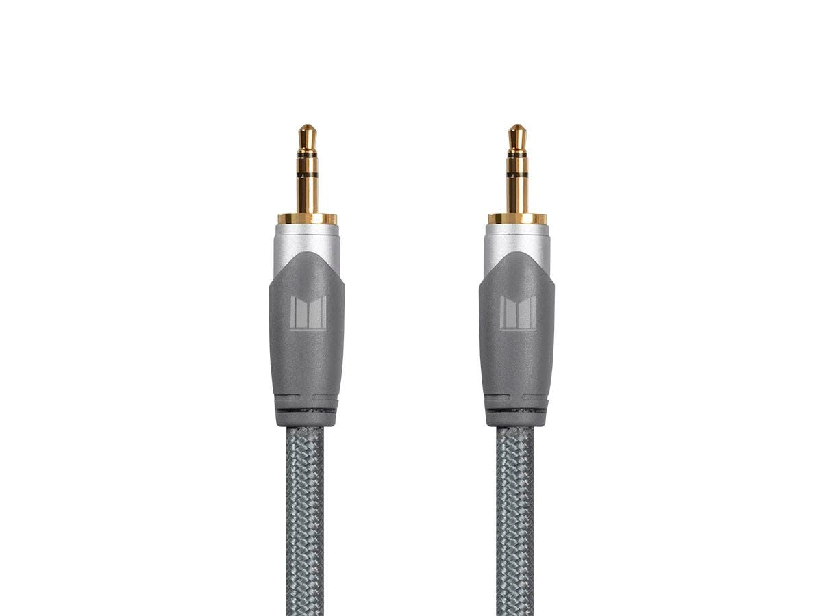 Monolith by Monoprice 3.5mm to 3.5mm TRS Auxiliary Audio Cable, 1m-Large-Image-1