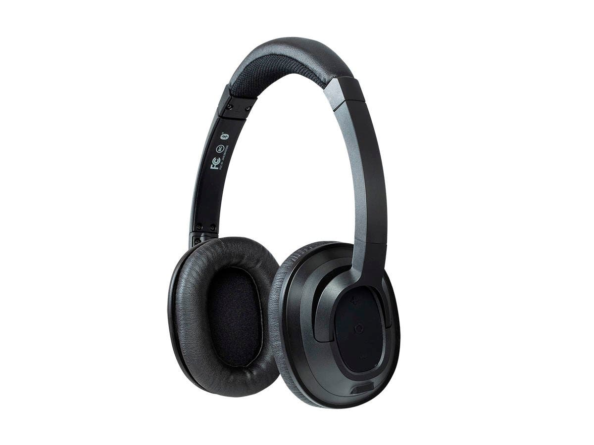 Monoprice BT-210 On Ear Lightweight Wireless Bluetooth Headphone-Large-Image-1