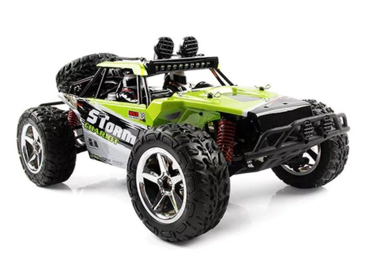 Subotech BG1513 1:12 Full Scale 2.4G 4 Wheel Off-road Vehicle - GREEN STORM-Large-Image-1