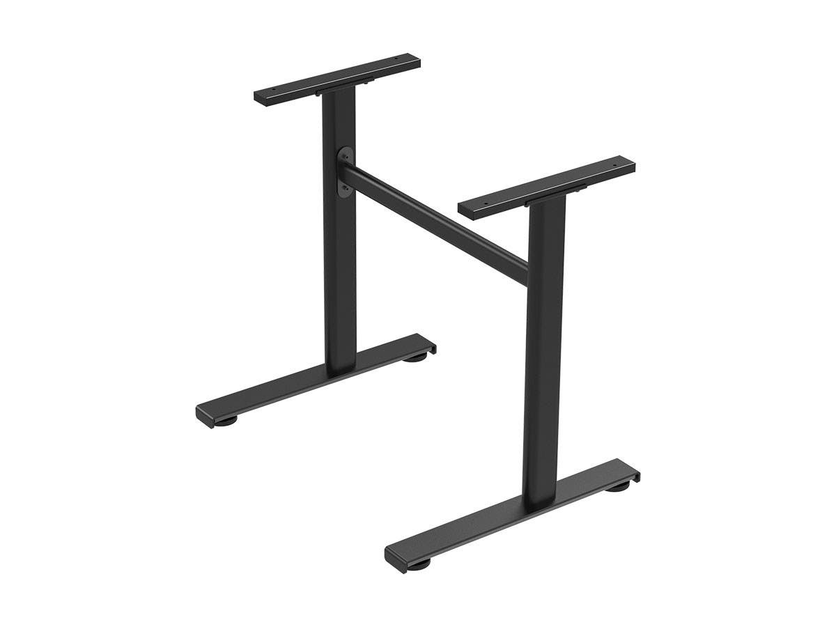 Workstream by Monoprice Standalone Metal Desk Frame for Compact Sit-Stand Desk Converters-Large-Image-1