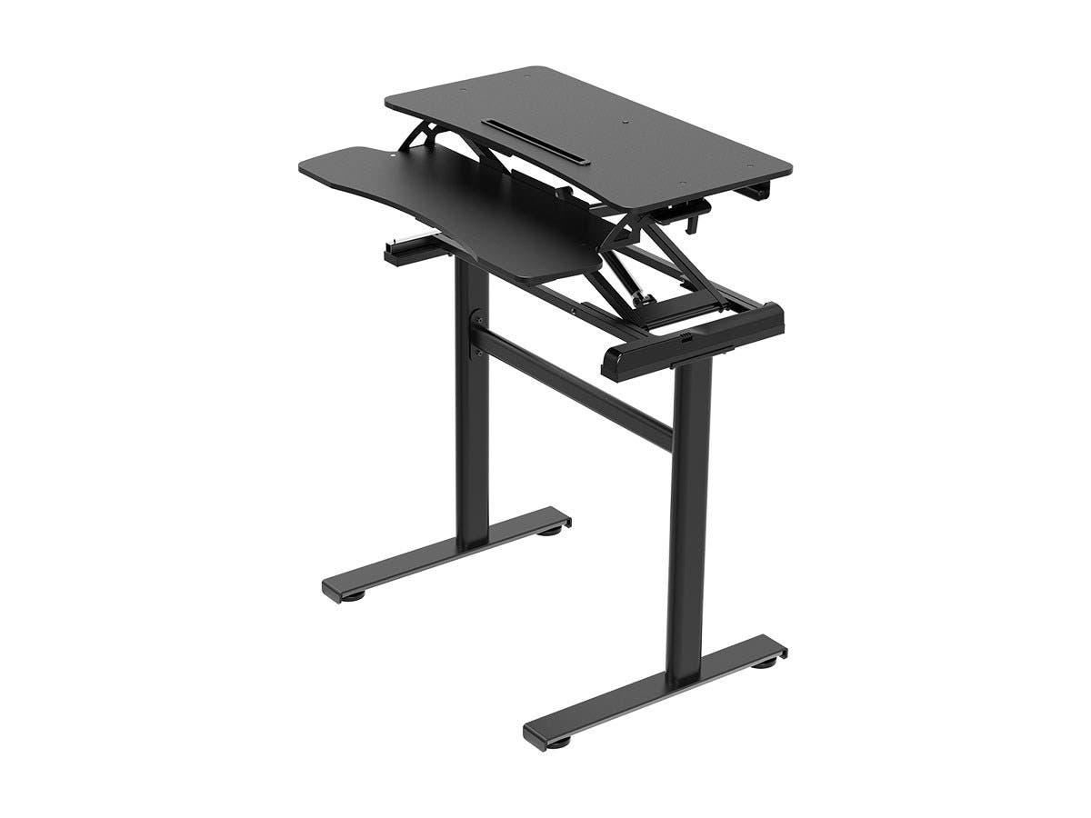 "Workstream by Monoprice Compact Standalone Sit-Stand Workstation Computer Desk Table, 31""-Large-Image-1"
