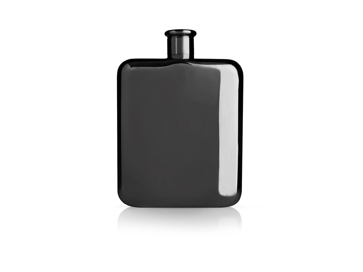 Warren Gunmetal Black Flask -Large-Image-1