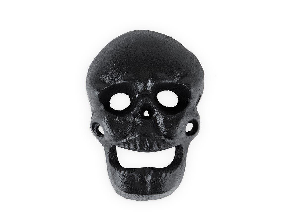 Wall Mounted Skull Bottle Opener-Large-Image-1