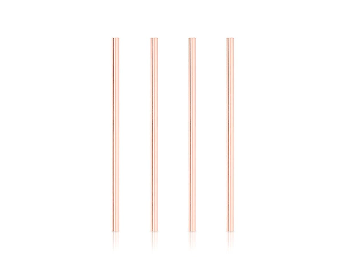 Summit Wide Copper Cocktail Straws -Large-Image-1