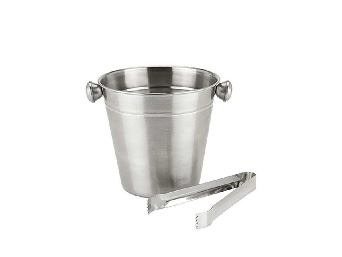 Frigid Ice Bucket and Tongs -Large-Image-1