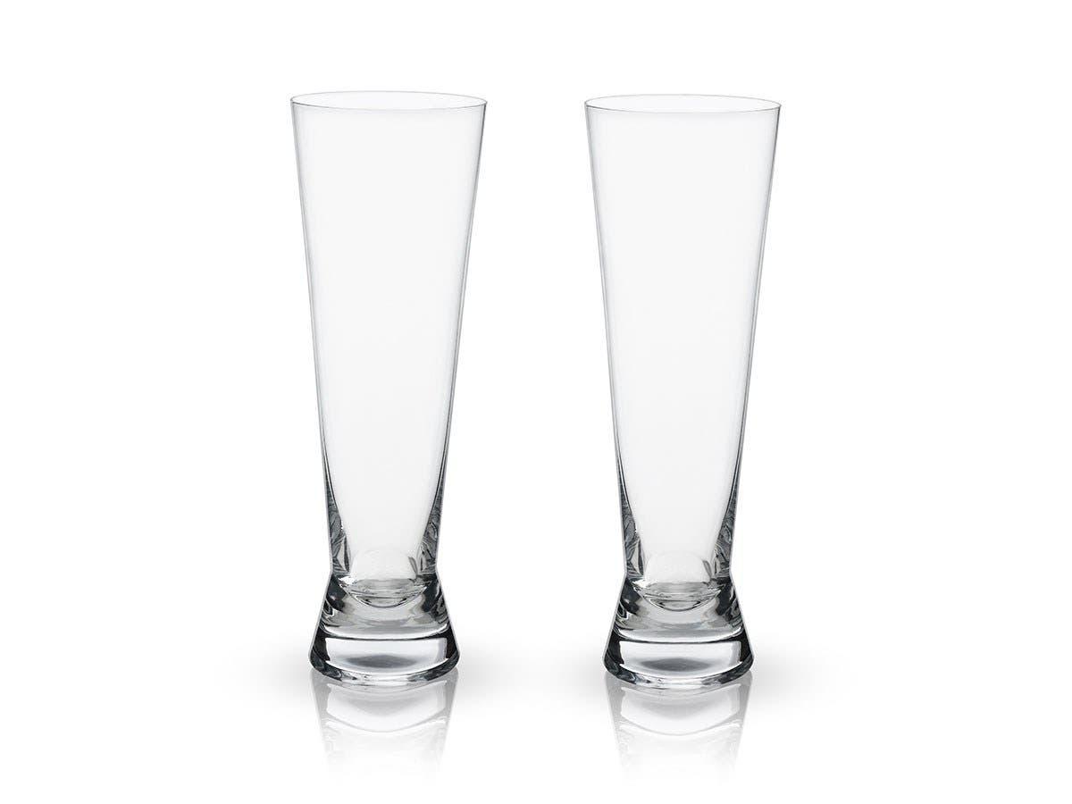 Raye Crystal Pilsner Glasses -Large-Image-1