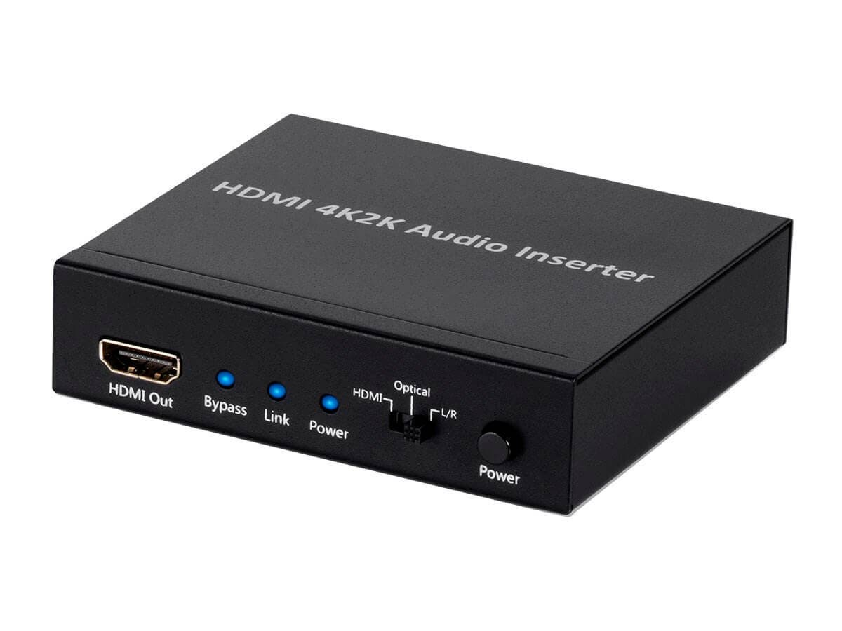 Monoprice Blackbird 4K Series HDMI Audio Inserter (Open Box)-Large-Image-1