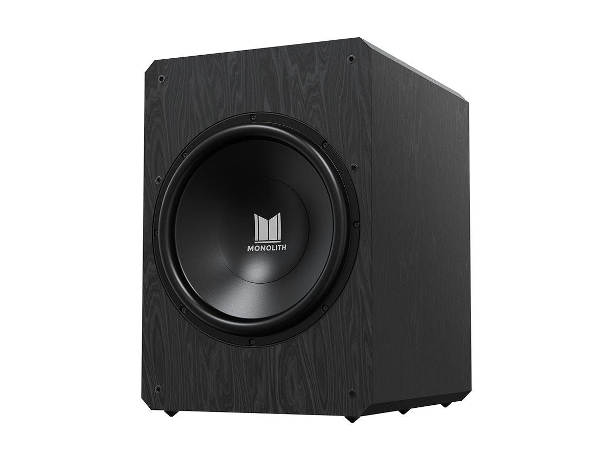 "Monolith by Monoprice M15-S 15"" THX Ultra Certified Sealed 1000 Watt Powered Subwoofer-Large-Image-1"