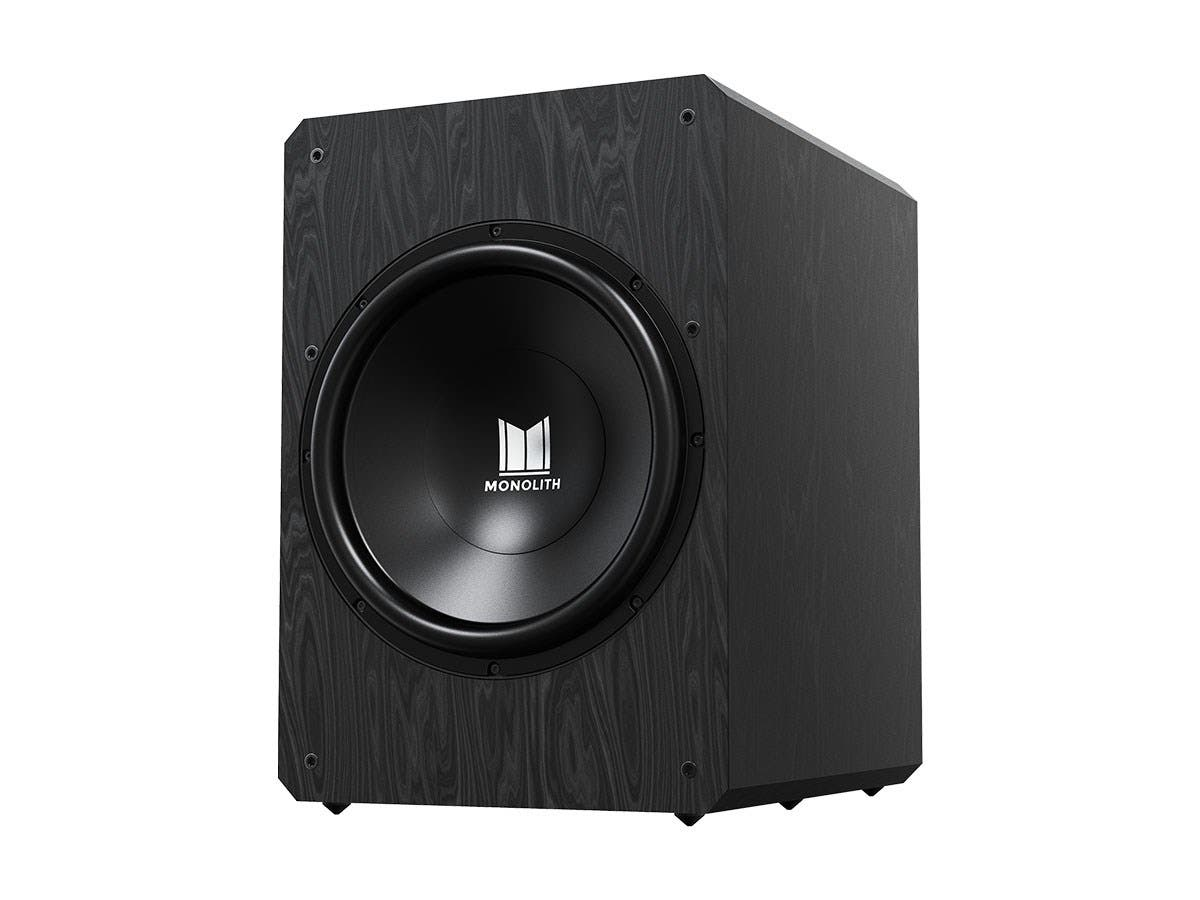 "Monolith by Monoprice M10-S 10"" THX Certified Sealed 500 Watt Powered Subwoofer-Large-Image-1"