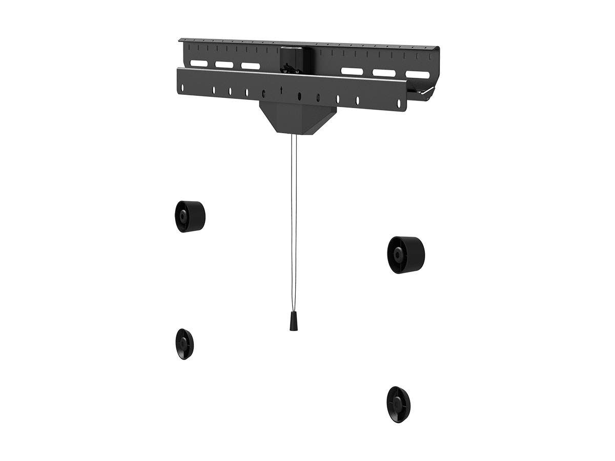 "Monoprice No Stud Hanger TV Mount for 37"" to 80"" TVs up to 110 lbs. Vesa up to 600x400-Large-Image-1"