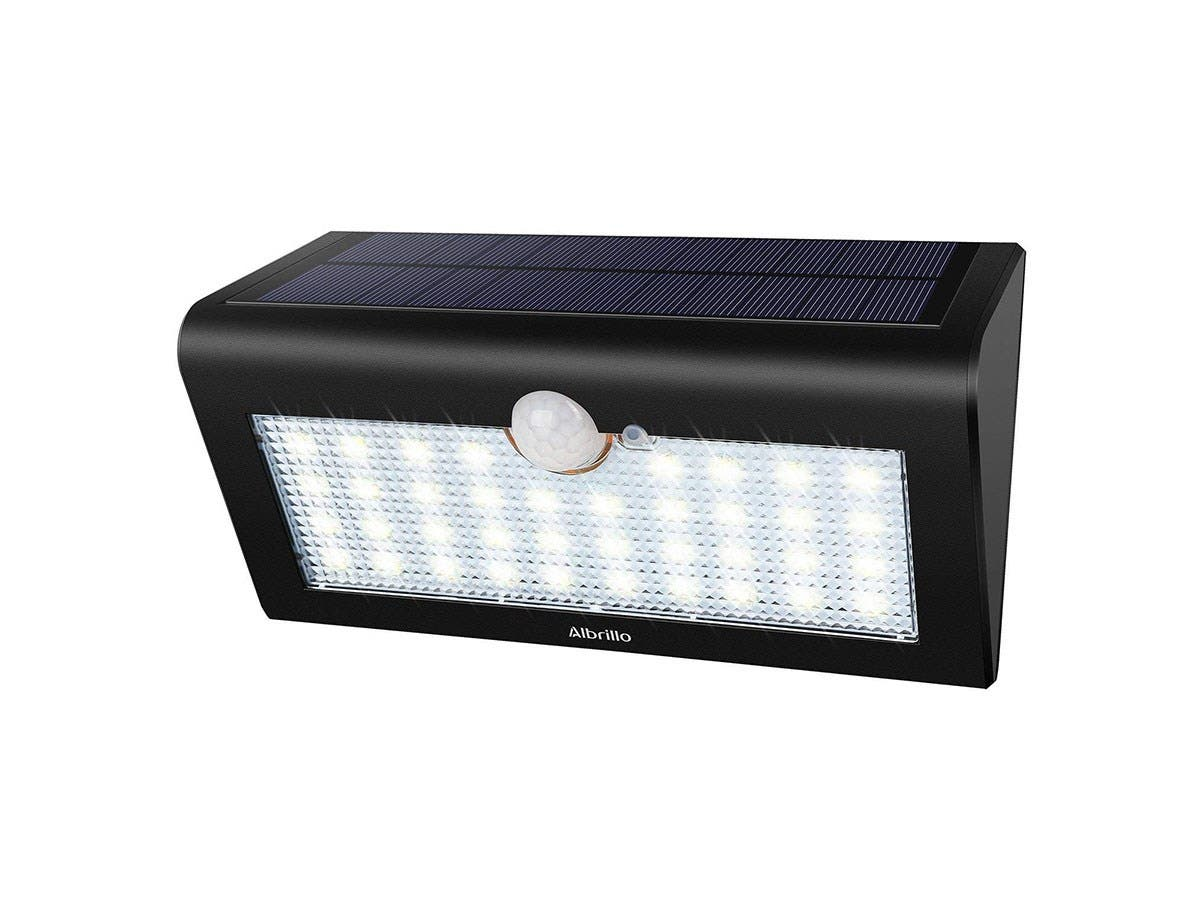 Albrillo 36 LED Solar Lights Outdoor, Motion Sensor Solar Light Wireless  Wall Light Security Night