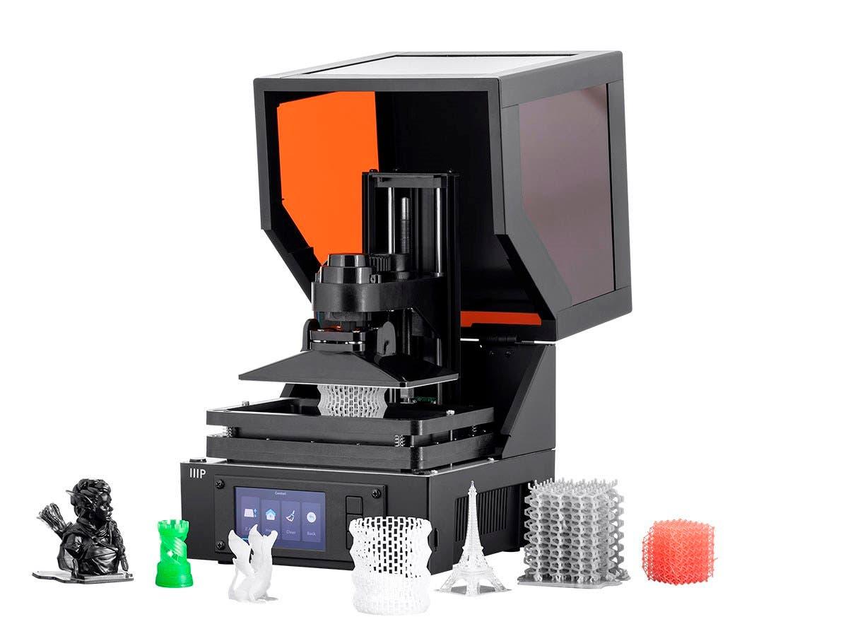 Monoprice MP Mini SLA LCD High Resolution Resin 3D Printer - main image