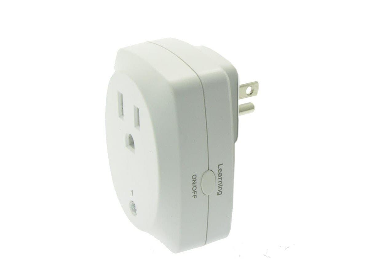 3 Pack Indoor Remote Controlled Power Socket Wireless Control