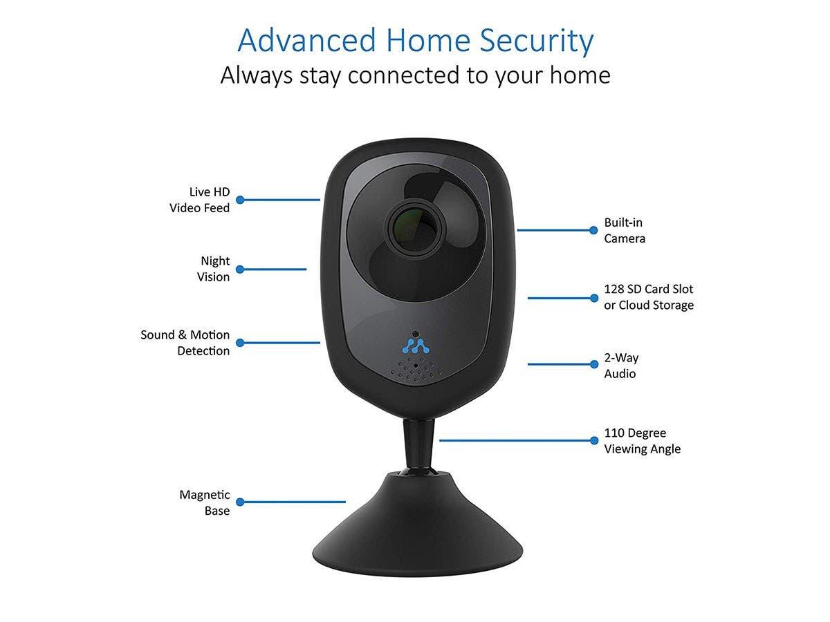 Momentum Hd Wireless Indoor Home Security Camera 2 Way