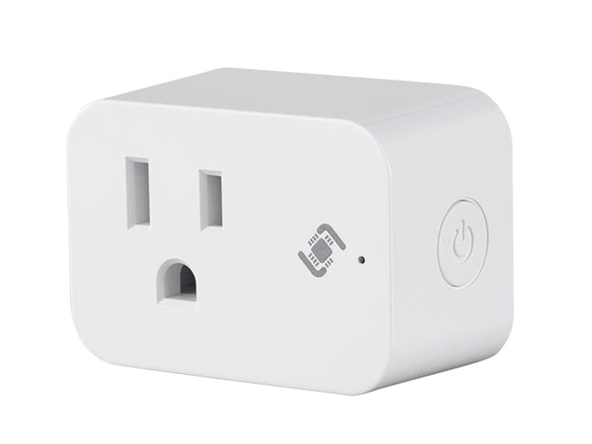 STITCH by Monoprice Wireless Smart Plug Mini with Energy Monitoring & Reporting; Works with Amazon Alexa and Google Home, No Hub Required-Large-Image-1