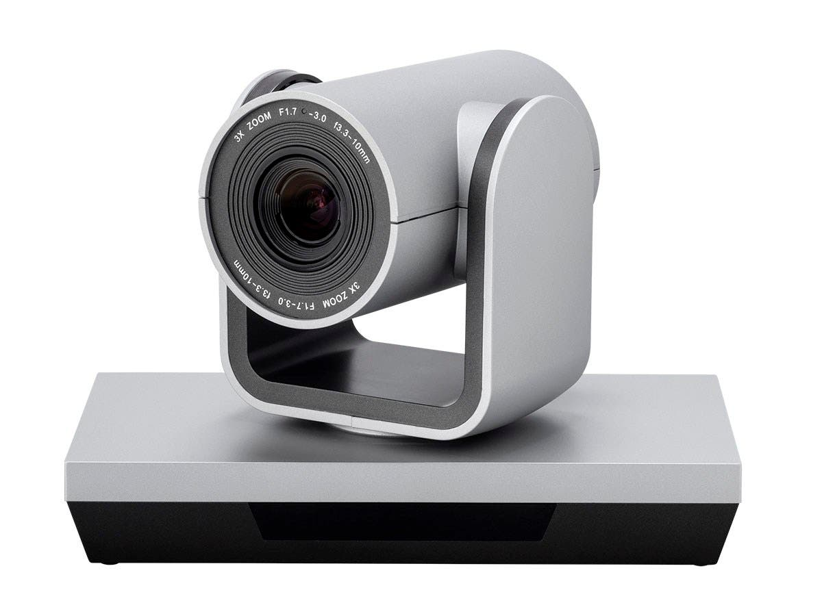 Workstream by Monoprice PTZ Conference Room USB Camera, 3x Optical Zoom Webcam, Pan and Tilt with Remote, 1080p-Large-Image-1