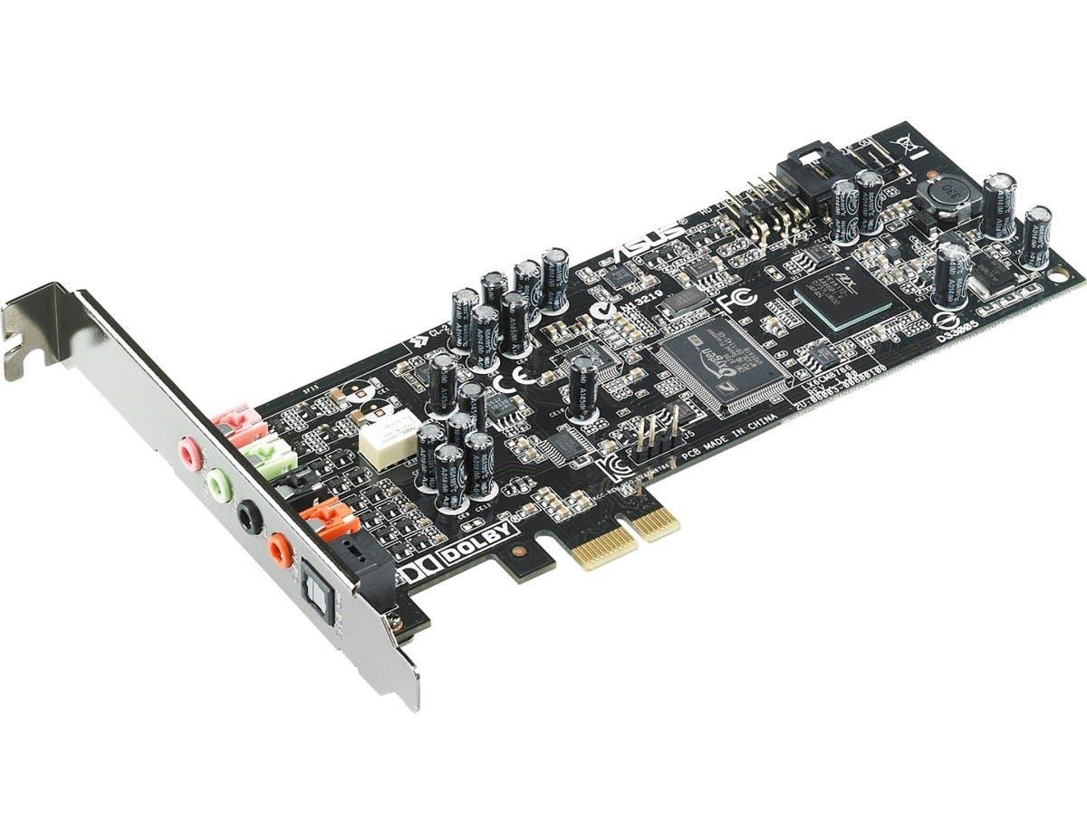 Asus Xonar DGX PCI Express 5.1-channel Gaming Audio Card - Internal - C-Media CMI8786 - PCI Express - 1 x Number of Audio Line In - 3 x Number of Audio Line Out - S/PDIF Out (Open Box)-Large-Image-1