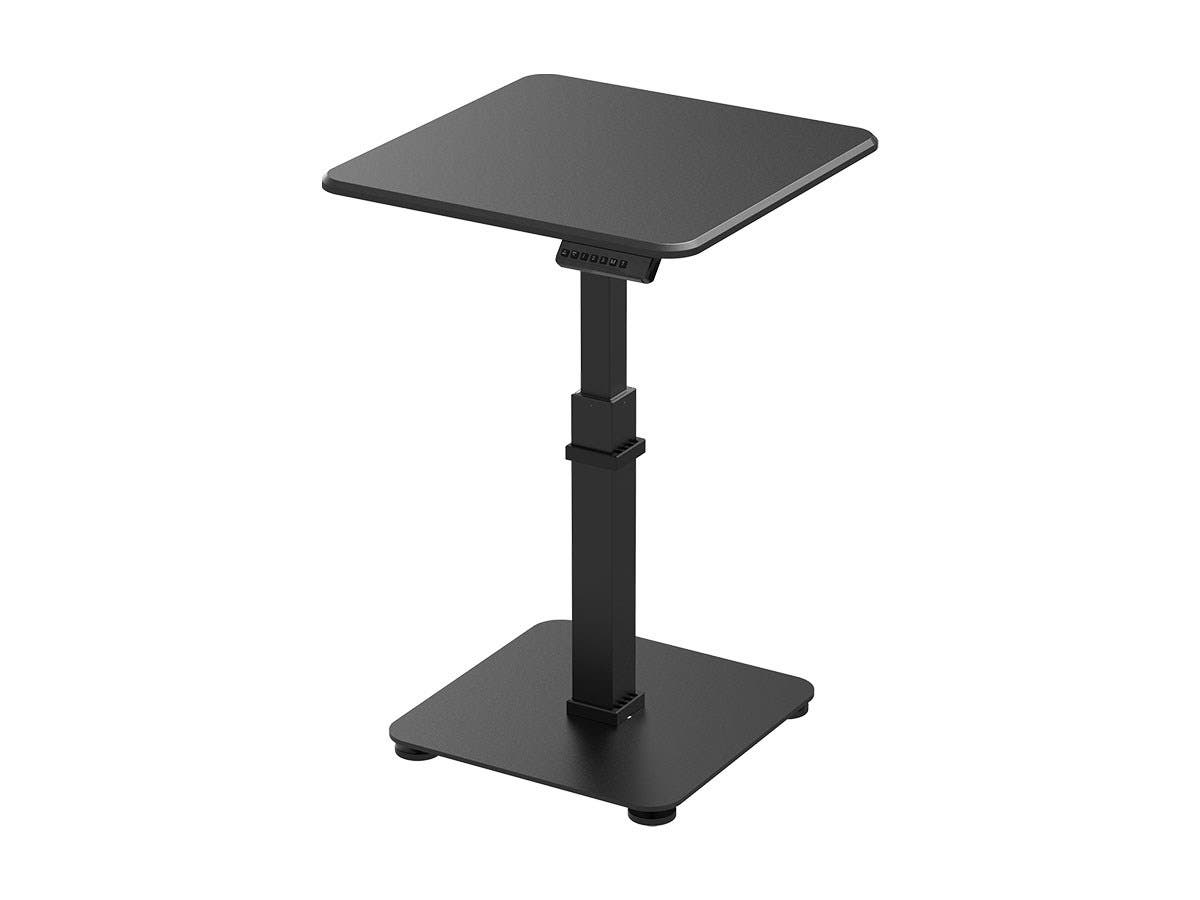 Workstream by Monoprice Single Motor Sit-Stand Pedestal Desk with Top-Large-Image-1