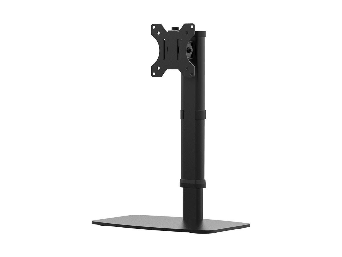 "Workstream by Monoprice Easy Height-Adjustable Free Standing Single Monitor Desk Mount for Monitors Up To 27""-Large-Image-1"