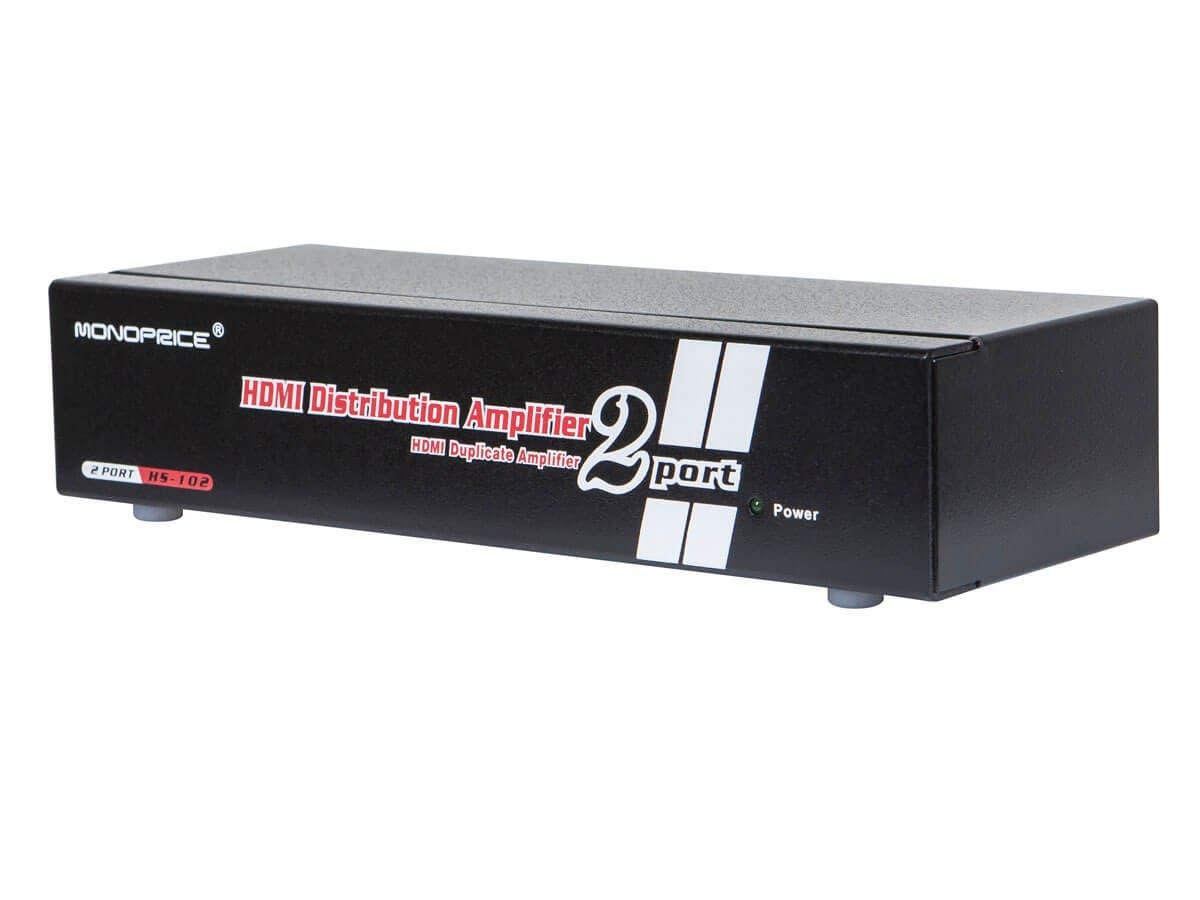 Monoprice 1X2 Powered HDMI Splitter (Open Box)-Large-Image-1