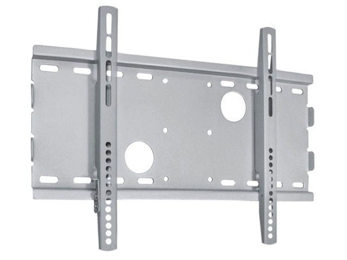 Monoprice Titan Series Fixed TV Wall Mount Bracket - For TVs 32in to 55in, Max Weight 165 lbs, VESA Patterns Up to 450x250-Large-Image-1