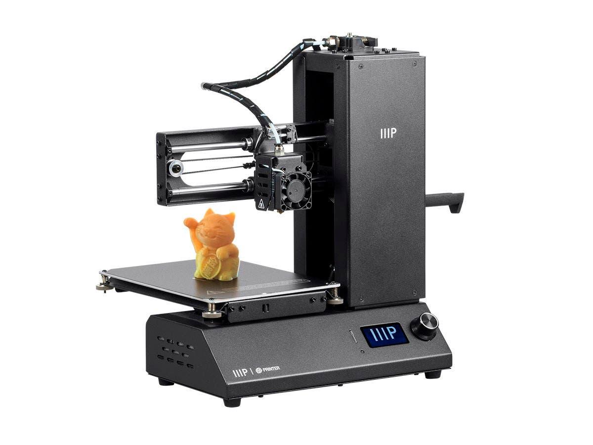 Monoprice MP i3 3D Printer Fully Assembled MicroSD & Sample