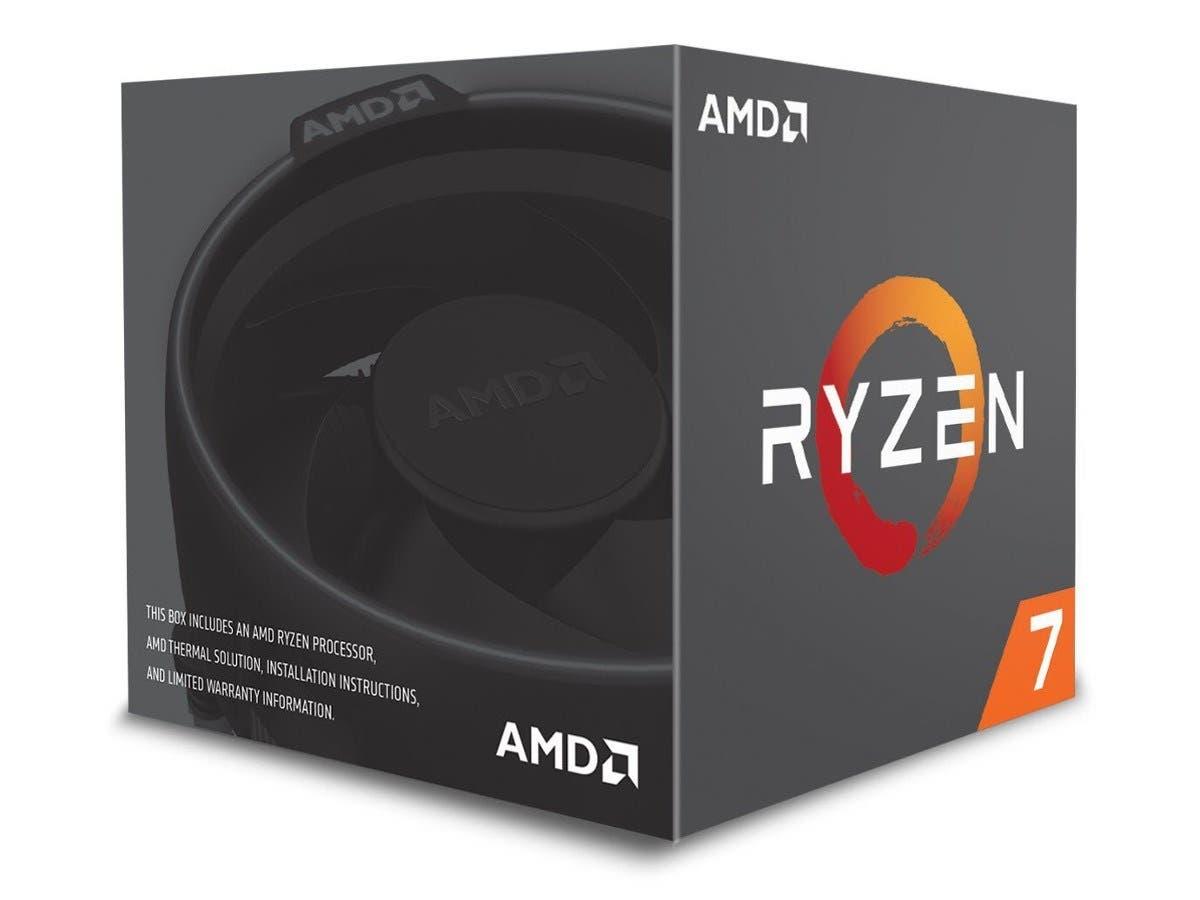 AMD RYZEN 7 2700 8-Core 3.2 GHz (4.1 GHz Max Boost) Socket AM4 65W Desktop Processor - YD2700BBAFBOX-Large-Image-1