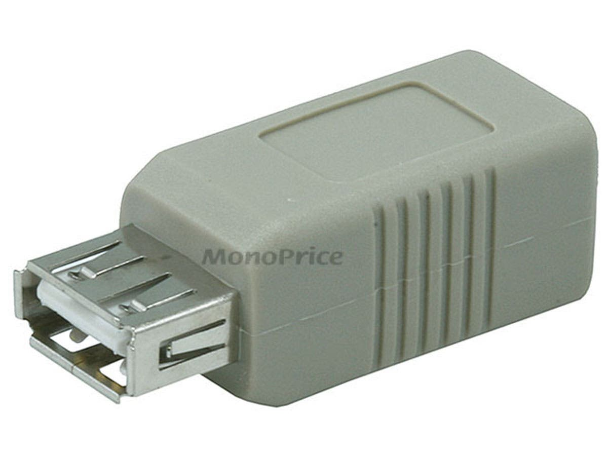 Monoprice USB 2.0 A Female/B Female Adapter-Large-Image-1