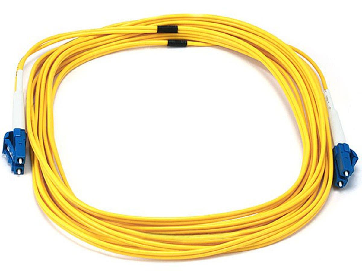 Fiber Optic Cable, LC/LC, Single Mode, Duplex - 5 meter (9/125 Type) - Yellow
