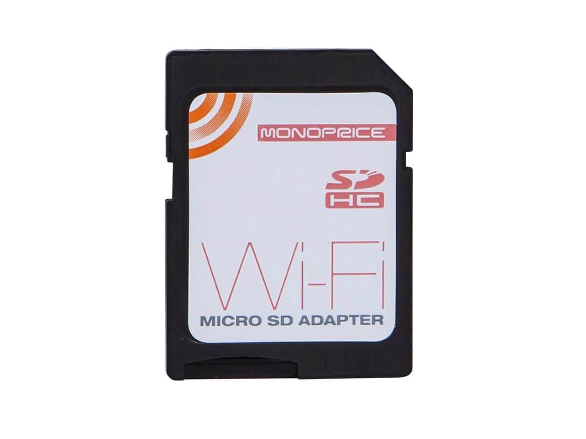 Monoprice Wi Fi Microsd Adapter Rev2 Sd Card Open Box Reader Mobile Mate For Memory