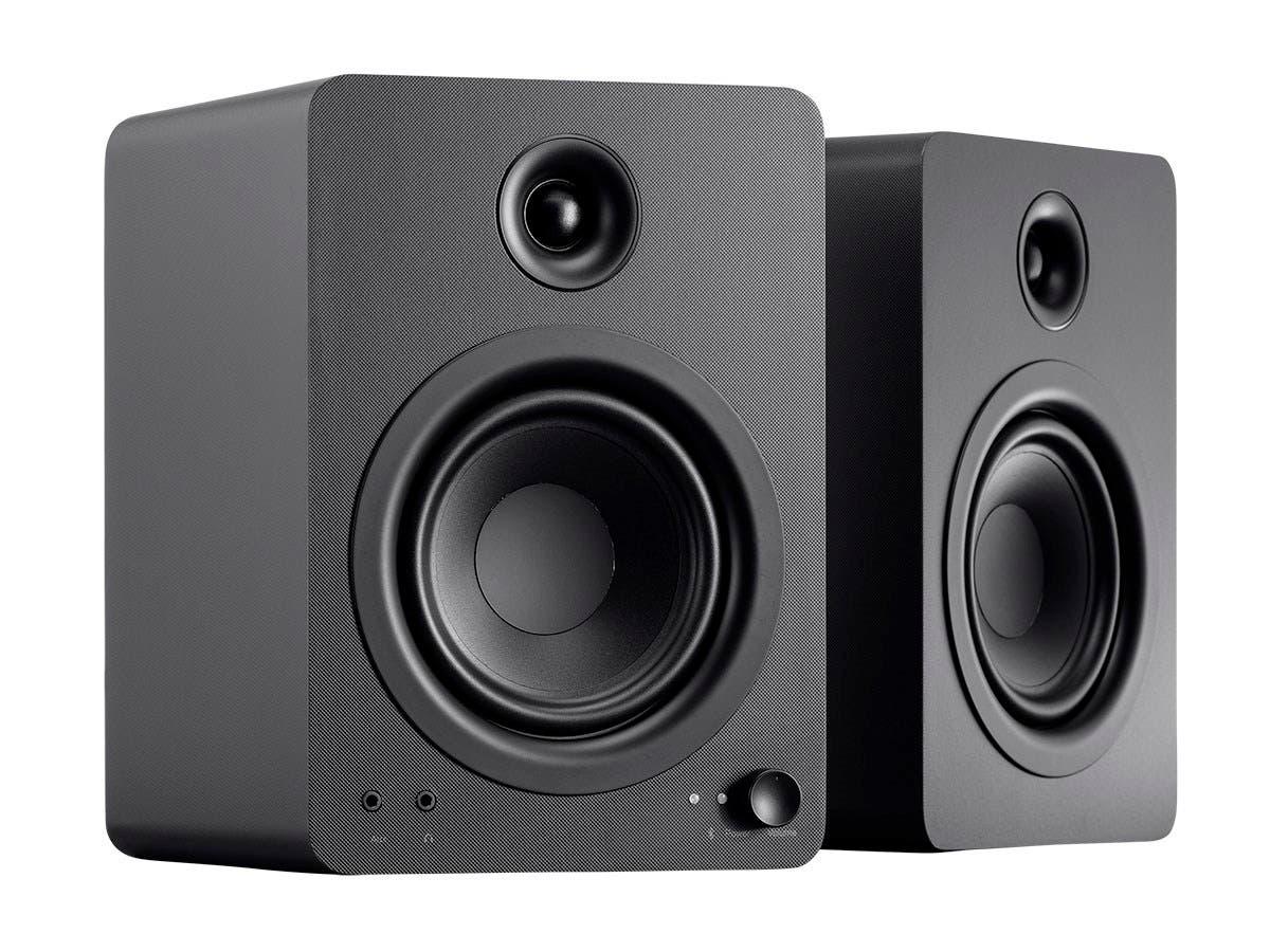 Monoprice DT-5BT 60-Watt Multimedia Desktop Powered Speakers with Bluetooth-Large-Image-1