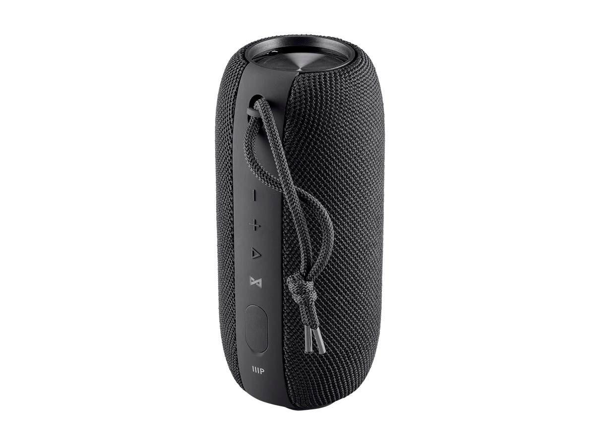 Monoprice Harmony Capsule 20 Watt IPX7 True Wireless Stereo (TWS) Waterproof Portable Bluetooth Wireless Speaker (Open Box)-Large-Image-1