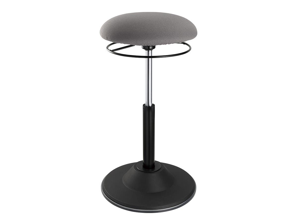 Workstream by Monoprice Sit-Stand Dynamic Stool, Round-Large-Image-1