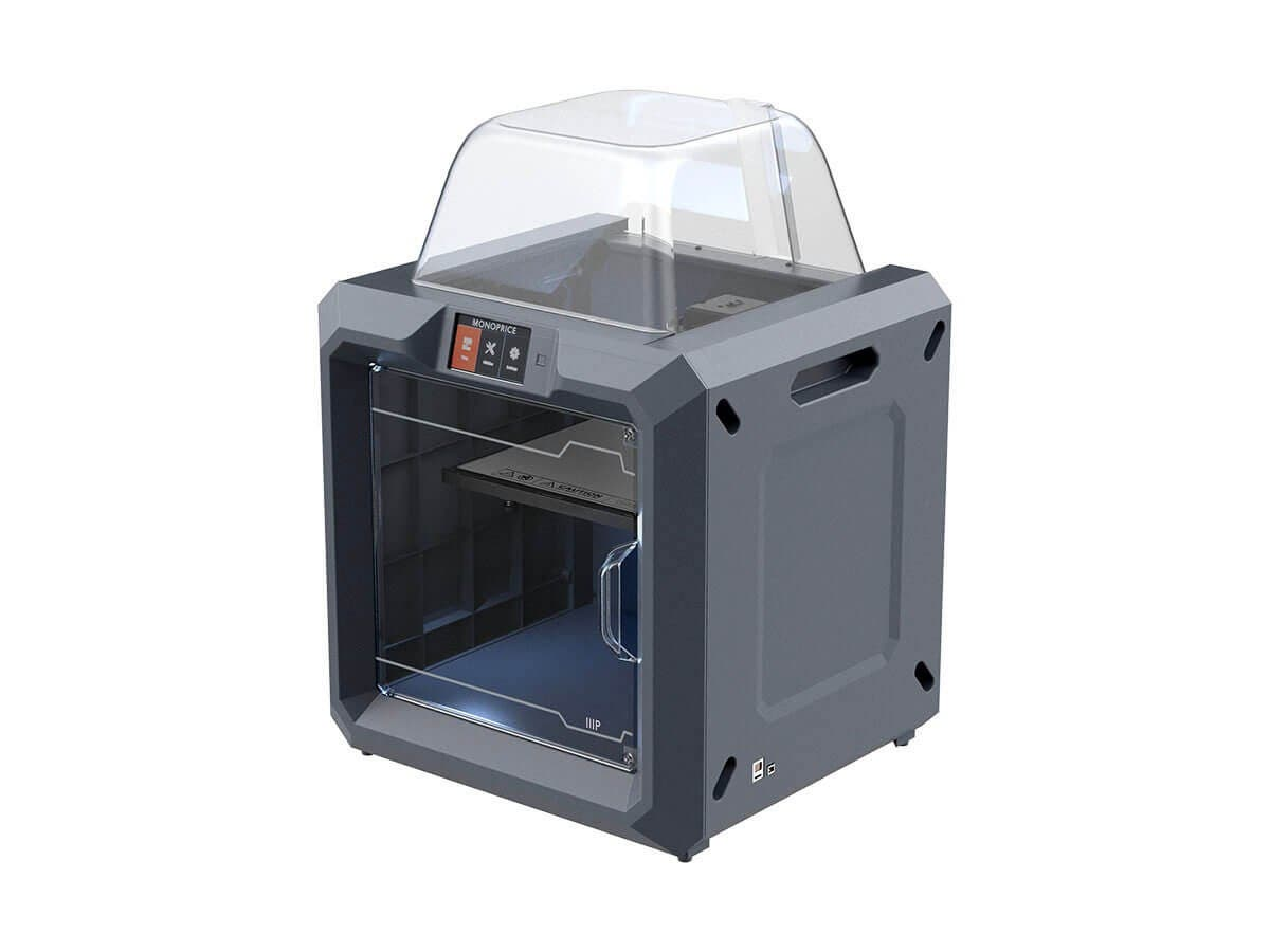 MP Fully Enclosed 300 3D Printer, Easy Wi-Fi, Touch Screen, Large Build Size, Assisted Leveling (Open Box)-Large-Image-1