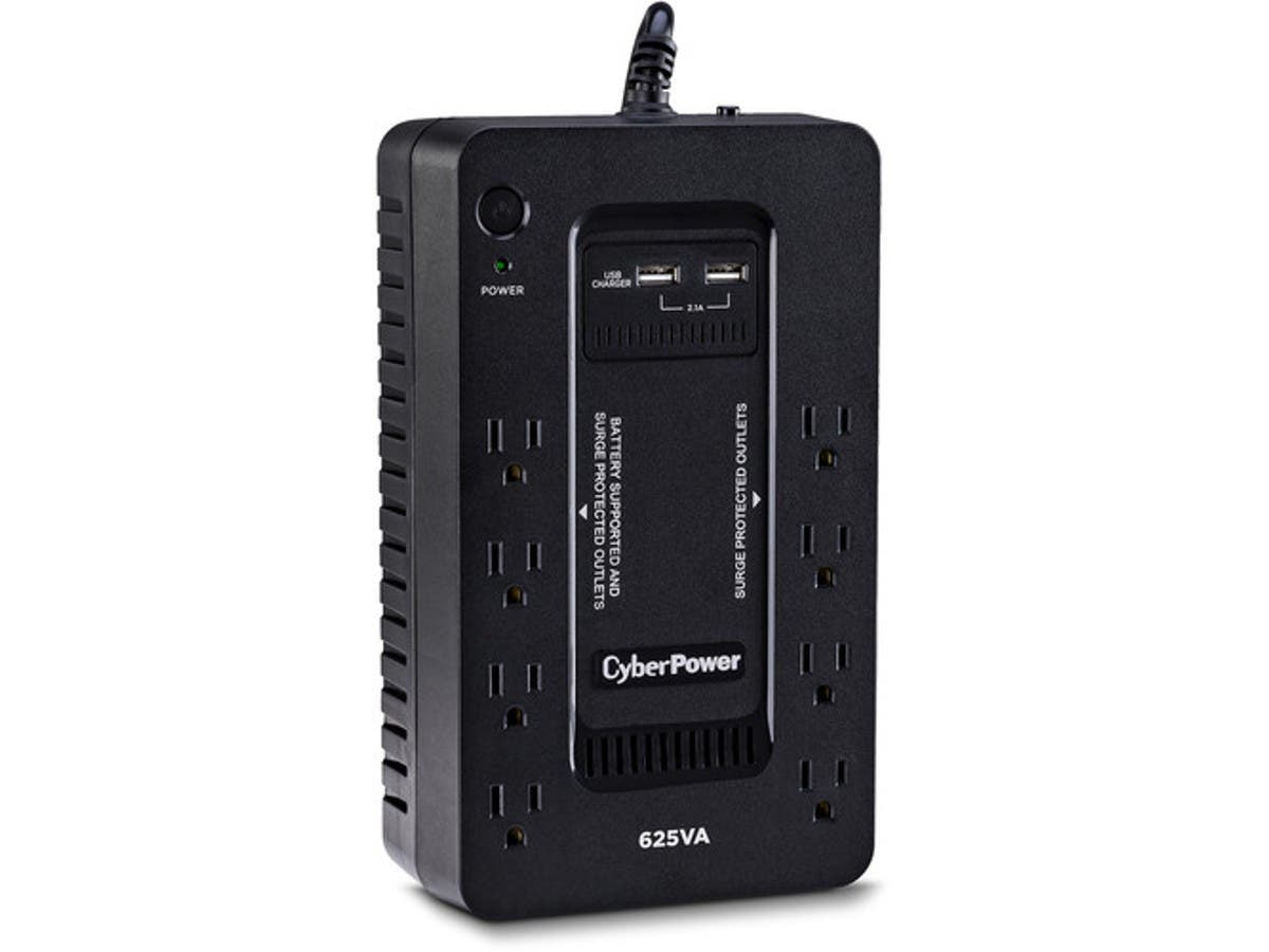 CyberPower ST625U Standby UPS 625VA/360W - Compact - 120 V AC - 2 Minute Stand-by Time - Compact - ST625U-Large-Image-1