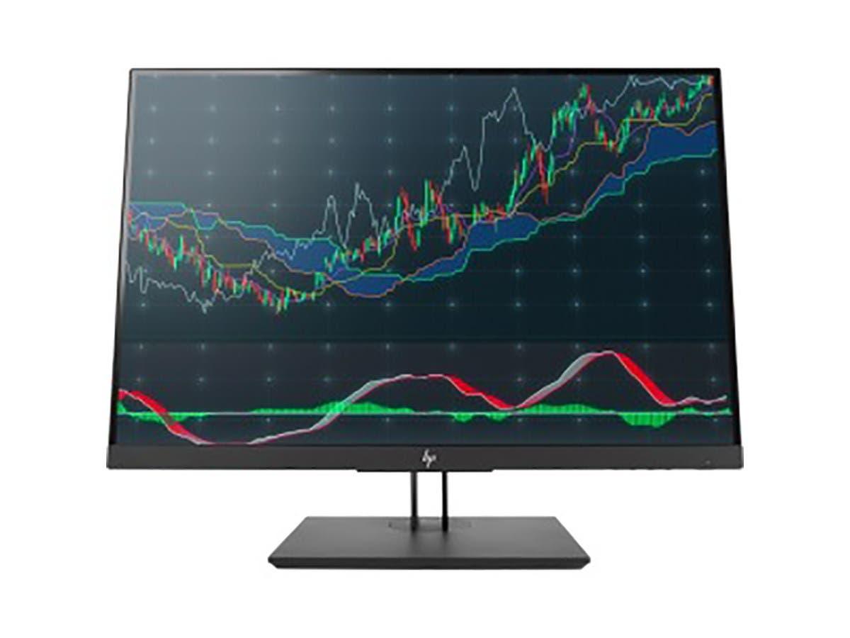 "HP Z24n G2 24"" LED LCD Monitor - 16:10 - 5 ms GTG - 1920 x 1200 - 16.7 Million Colors - 300 Nit - 10,000,000:1 - WUXGA - DVI - HDMI - DisplayPort - USB - 92 W - Black -Large-Image-1"