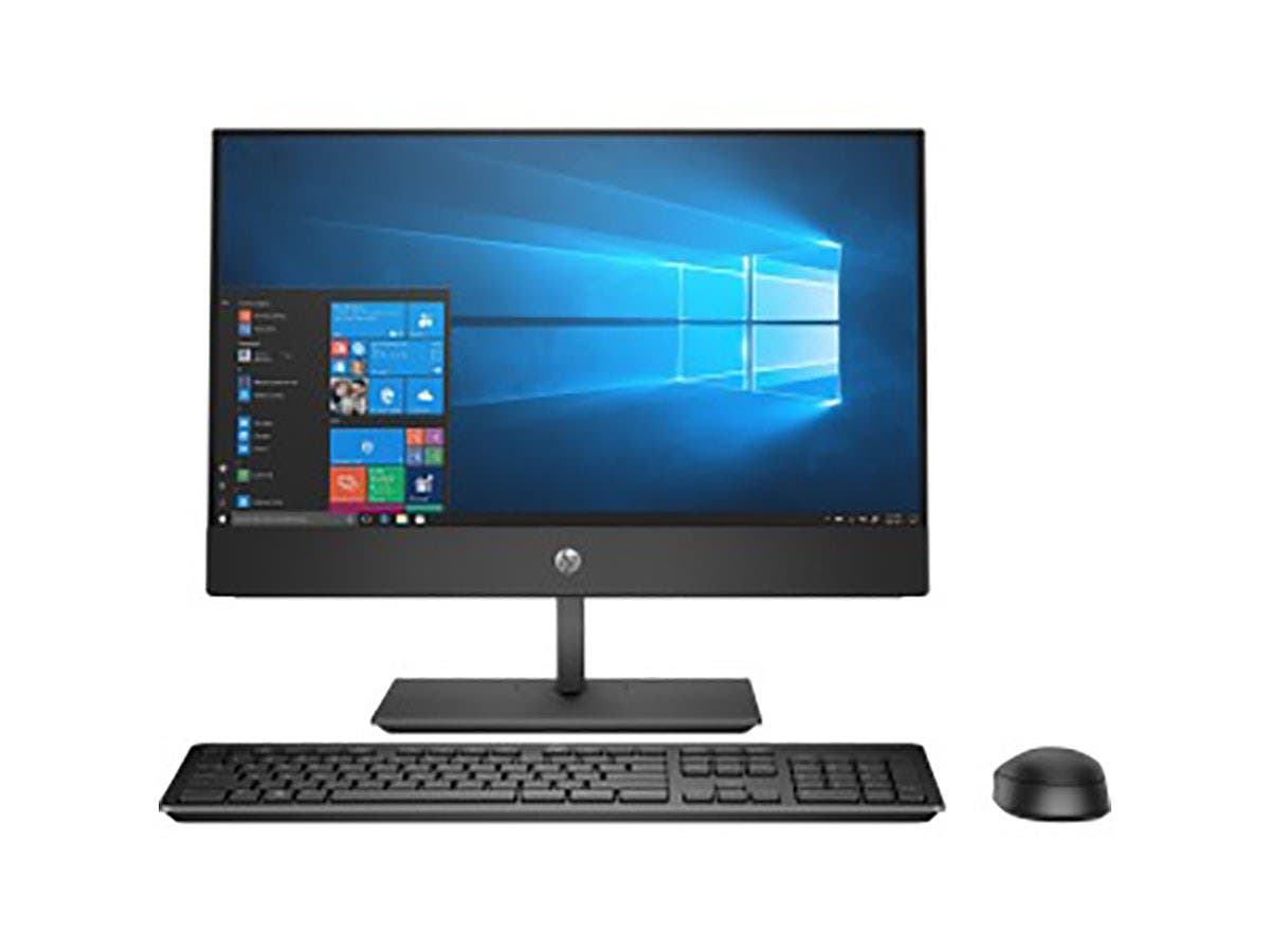 "HP Business Desktop ProOne 600 G4 All-in-One Computer - Intel Core i5 (8th Gen) i5-8500 3 GHz - 8 GB DDR4 SDRAM - 1 TB HDD - 21.5"" - Windows 10 Pro - 4LU89UT#ABA-Large-Image-1"