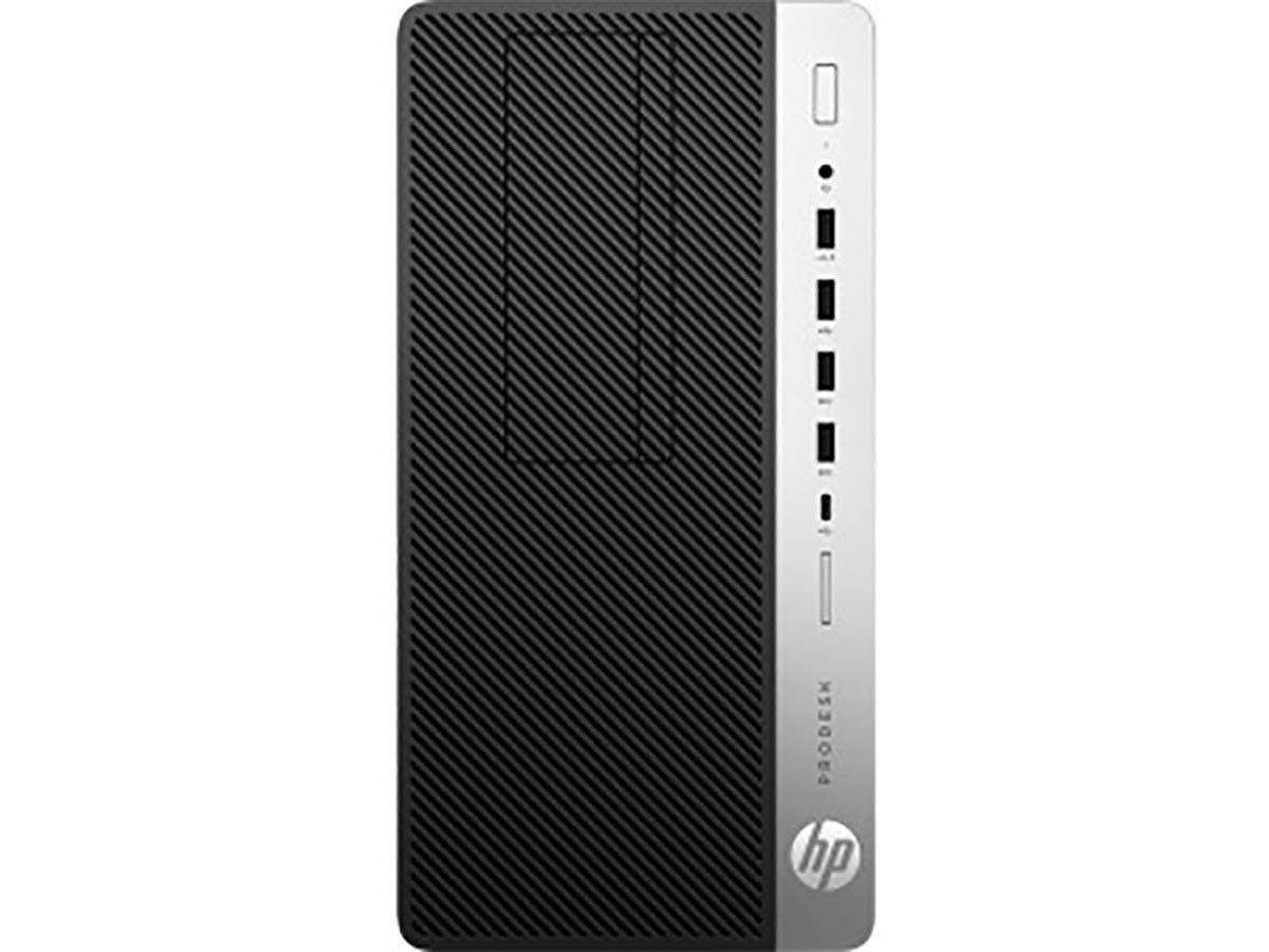 HP Business Desktop ProDesk 600 G4 Desktop Computer - Intel Core i3 (8th Gen) i3-8100 3.60 GHz - 4 GB DDR4 SDRAM - 500 GB HDD - Windows 10 Pro - 4HP21UT#ABA-Large-Image-1