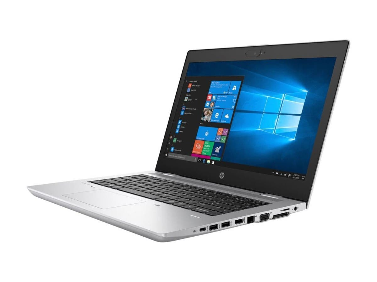 "HP ProBook 645 G4 14"" Notebook- Ryzen 7 2700U - 8 GB RAM - 500 GB HDD - Natural Silver - Windows 10 Pro 64-bit - AMD Radeon RX Vega 10 Graphics - 4TK38UT#ABA-Large-Image-1"