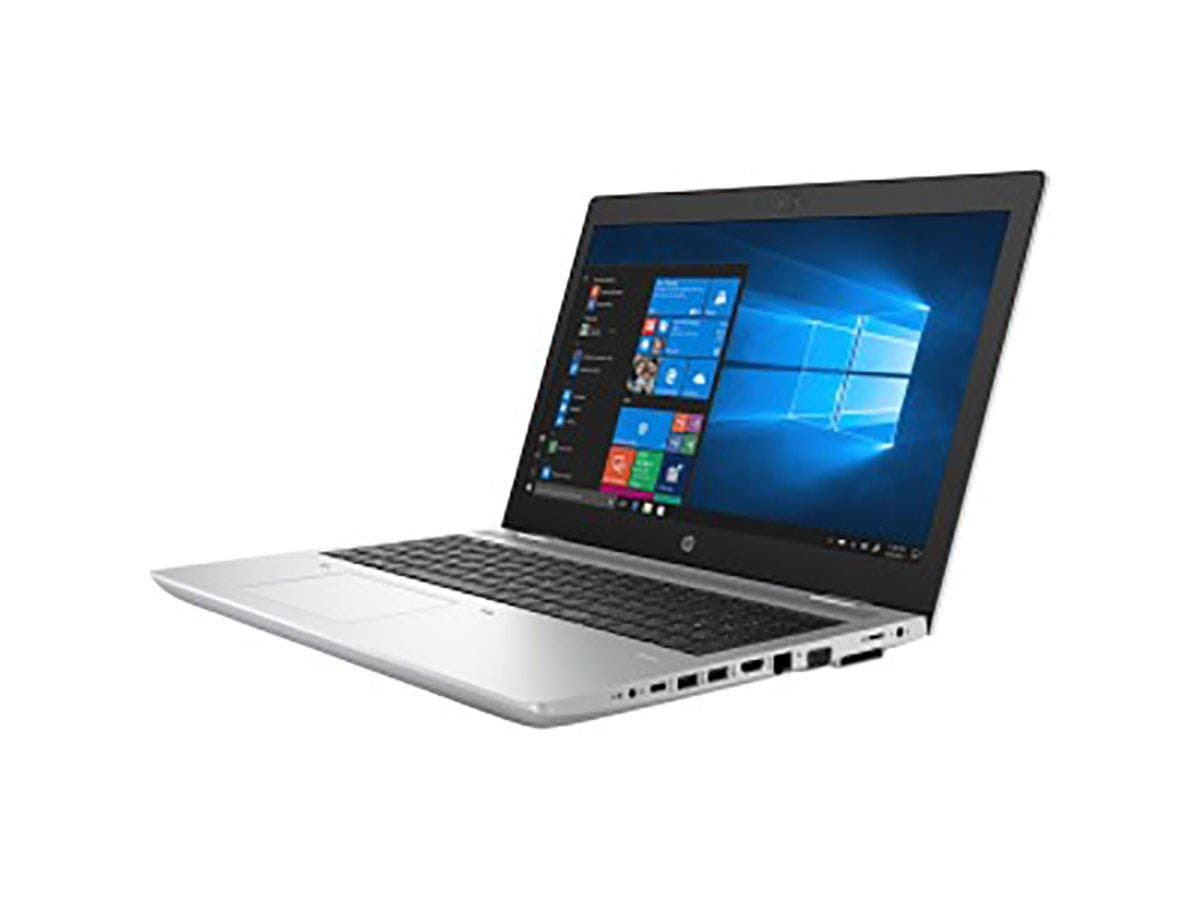 "HP ProBook 650 G4 15.6"" LCD Notebook - Intel Core i7 (8th Gen) i7-8850H Hexa-core (6 Core) 2.60 GHz - 16 GB DDR4 SDRAM - 256 GB SSD - Windows 10 Pro - 4PY82UT#ABA-Large-Image-1"