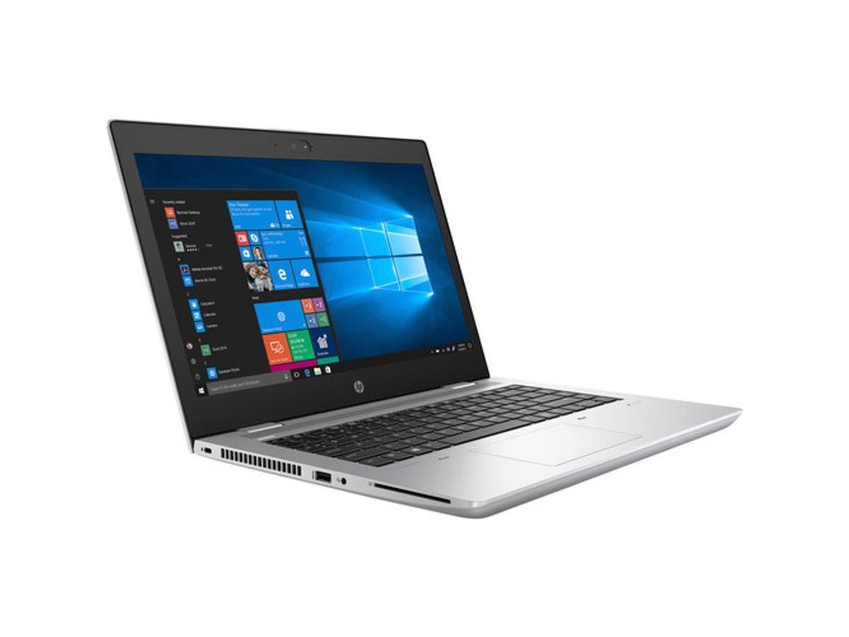 "HP ProBook 645 G4 14"" Notebook - 1920 x 1080 - Ryzen 7 2700U - 8 GB RAM - 256 GB SSD - Natural Silver - Windows 10 Pro 64-bit - AMD Radeon RX Vega 10 - 4LB42UT#ABA-Large-Image-1"