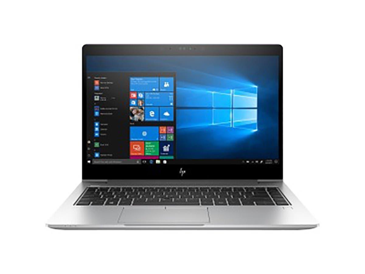 "HP EliteBook 745 G5 14"" LCD Notebook - AMD Ryzen 7 2700U Quad-core (4 Core) 2.20 GHz - 8 GB DDR4 SDRAM - 256 GB SSD - Windows 10 Pro - 4JB95UT#ABA-Large-Image-1"
