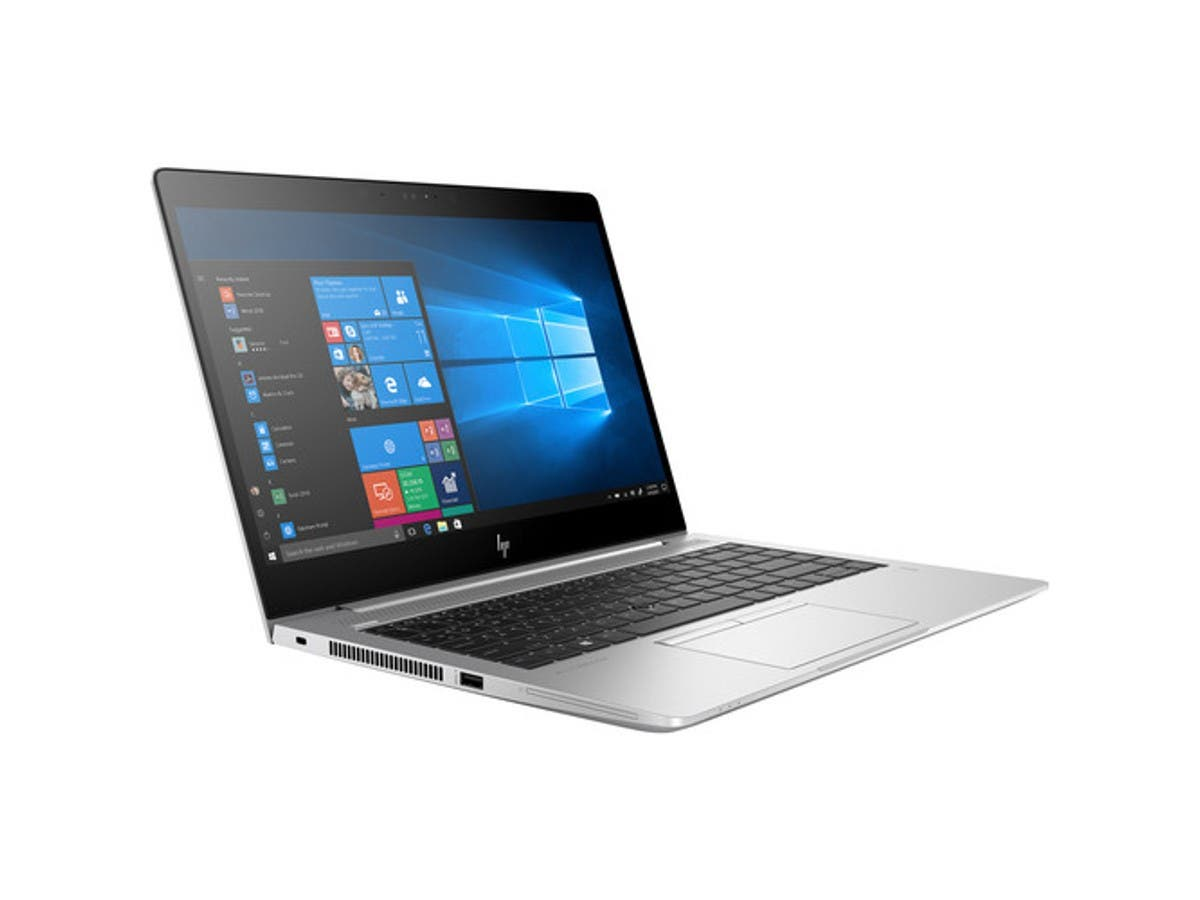 "HP EliteBook 745 G5 14"" Notebook - 1920 x 1080 - Ryzen 5 2500U - 8 GB RAM - 256 GB SSD - Windows 10 Pro 64-bit - AMD Radeon Vega 8 Graphics - 4JB92UT#ABA-Large-Image-1"