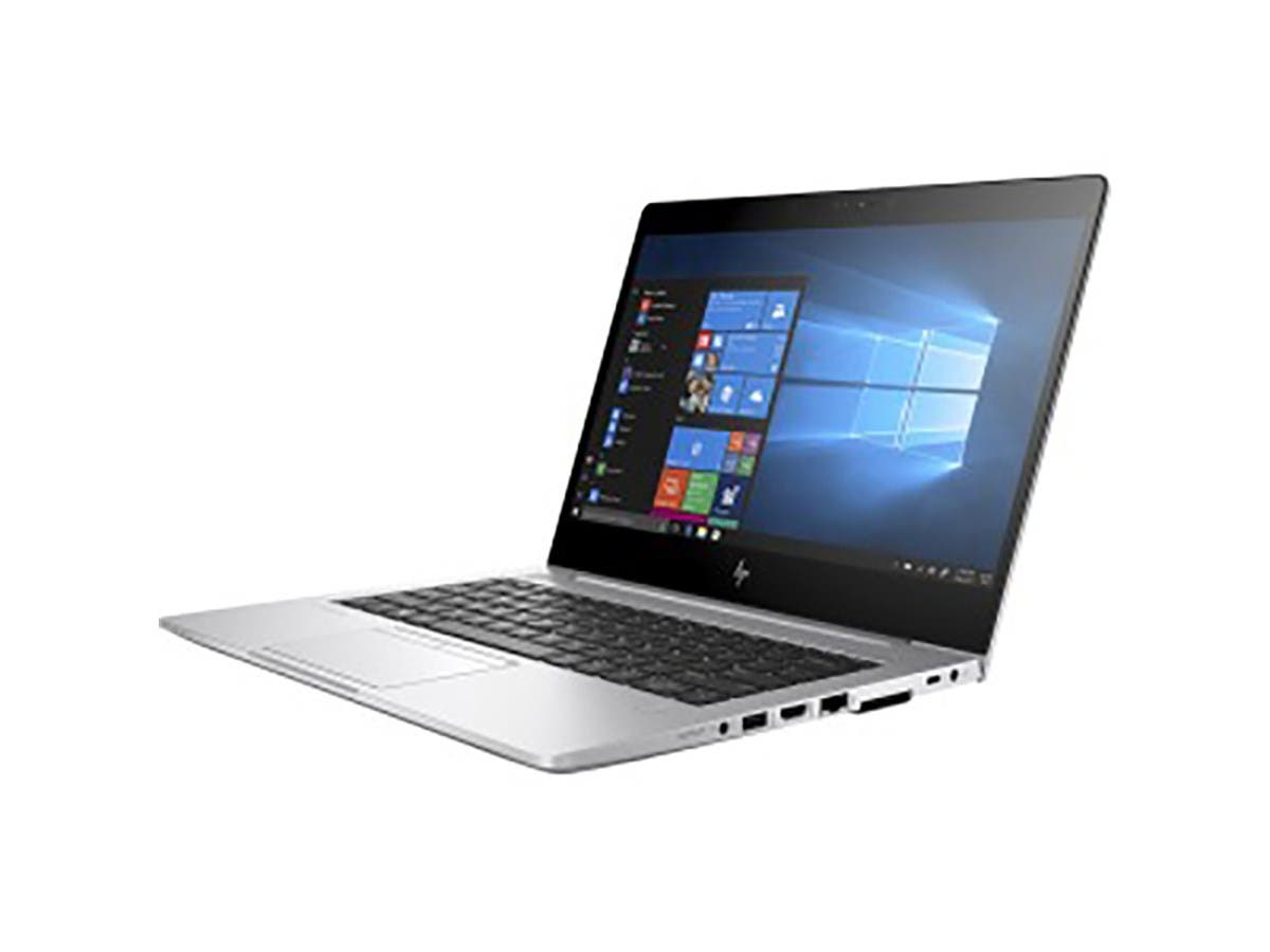 "HP EliteBook 830 G5 13.3"" Touchscreen LCD Notebook - Intel Core i5 (8th Gen) i5-8350U Quad-core (4 Core) 1.70 GHz - 8 GB DDR4 SDRAM - 256 GB SSD - Windows 10 Pro - 3RB38UT#ABA -Large-Image-1"
