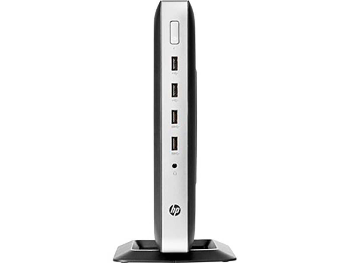 HP t630 Tower Thin Client - AMD G-Series GX-420GI Quad-core (4 Core) 2 GHz - 4 GB RAM DDR4 SDRAM - 16 GB Flash - AMD Radeon - 3BG77UT#ABA -Large-Image-1